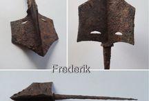 Arrowhead and Knife