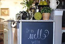 Chalkboards / by Mallory Stoderl