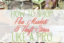 All things vintage, thrift, and flea market decorating!