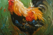Rooster and Chicken / by Dorenda White