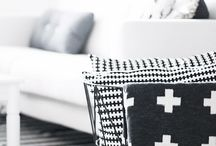 Inspo // Div. Scandinavian style / #popeyecandy #details #inspiration #scandinavianstyle #skandinaviskstil #interior #blackandwhite #nordicstyle