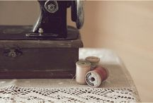❥ Needle & Thread / It all begins with just a single needle and a little thread...