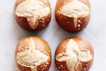 Bread, home-made bread. I love it