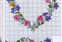 vyšívanie - kvety