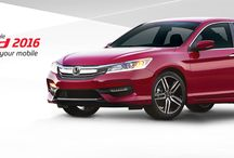 Honda Accord 2016 / Upgrade your Style. Your car, your mobile.