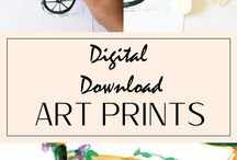 Living Room Art Prints - Living Room Decor / Instant download printables for your living room / bedroom that are a convenient and affordable way to spice up YOUR home in an instant with quality products that will WOW your friends and family!