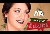 Makeup e Acconciature per Natale e Capodanno / Marta e Jasmine propongono degli abbinamenti di trucco e parrucco per le feste 2014. Divertitevi a provarle e diteci cosa ne pensate!
