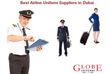 Airline Uniform Suppliers in Dubai / Airline Uniform Suppliers - Globe Uniforms is one of the top uniform suppliers for airline and cabin crew staff in Dubai and Doha. Buy airline uniforms at best prices. Order now!