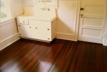 Hard wood floors