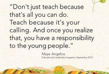 Education and Leadership