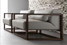 деревянная мягкая мебель
