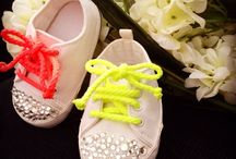 Handmade baby prewalker shoes