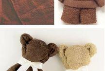 muñecos de toalla