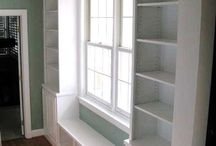 for Jamie's room / ideas for built-ins / by Diana Hirneisen