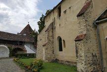 Cisnadie Biserica fortificata, Marginimea Sibiului , Sibiu, România / Cisnadie Biserica fortificata din Marginimea Sibiului România