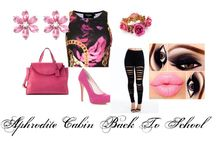 Character Sets / Polyvore fashion sets for book, movie, and tv show characters
