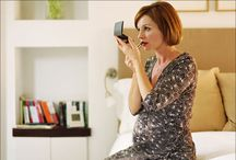 Preggy Beauties / Even pregnant women can look good with the right blend of make-up.