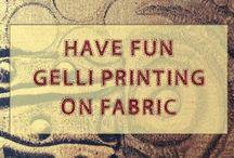 Gelli Plate Printing