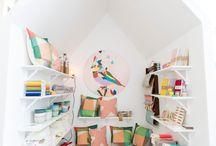 Kid Spaces / Des espaces colorés, plein de vie et de créativité.