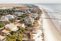 Charleston at the Beach / There are miles of beaches in the Charleston area.  Sullivan's Island, Isle of Palms, Folly Beach, Edisto Beach, Wild Dunes, and more...