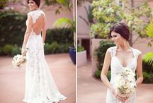 LACE WEDDING GOWNS / wedding inspiration