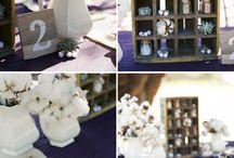 vintage wedding decor / vintage wedding decor