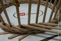 плетение из газетных трубачек