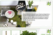 Jardín Urbano - Contemporáneo / ¡Únete a las últimas tendencias para tener un jardín envidiable!