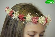 Coronas de flores / Coronitas