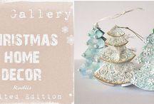UHK Gallery Christmas Home Decor 2012