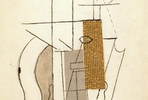 picasso cubism collage