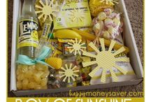 Gift Boxes Baskets Packages / by Miranda Mace