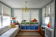 Sunroom playroom / by Heather Anderson Ede