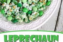 St. Patrick's Day Snacks / Food and snack ideas for St.  Patrick's Day