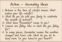 Journaling Prompts by Misty Hilltops Designs