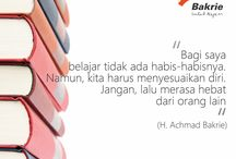 Bakrie Quotes