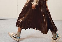 Sneakers skirts