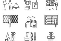 Iconography / A collection of cool iconography