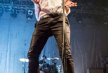 Tom Smith of Editors performs in concert at Razzmatazz on November 16, 2015 in Barcelona, Spain.