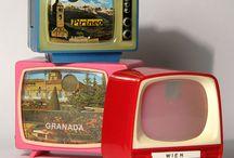 TV Miniatures Vintage Toys Souvenirs