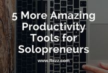 Freelancer tools / Review of useful online marketing and productivity tools for freelancers, solopreneurs and business owners