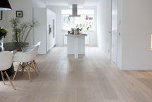 Nieuw huis - wanden, vloeren / Moodboards met ideeën voor mijn volgende huis