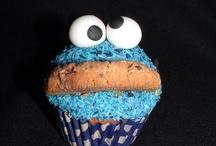 Cookie monster inspired party / Mijn mannetje wordt alweer 2 jaar! Tijd voor een themafeestje: koekie monster!