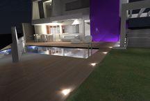 HOUSE I,GRAN CANARIA, MASPALOMAS I, SONNELAND I / Vivienda de diseño moderno, contemporáneo, línea minimalista, con piscina y jardín.