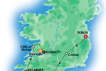2016 Ireland Tours (5-9 days) / To find your ideal vacation, browse our comprehensive selection of guided coach tours to Ireland that vary in length from 5 - 15 days. Choose value-for-money first class programs, splurge with deluxe properties or find something in between. / by CIE Tours International
