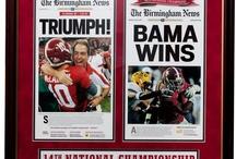 Alabama/Sports / by Mindi Green