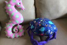 Linda's Salty Creatures / Individually designed and hand crafted cushions and toys of Florida fauna (sea and land creatures)