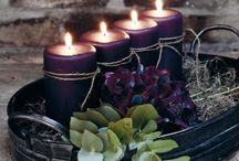 svíčky aranž