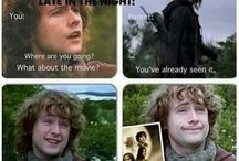 Hobbit and Lord of the Rings!