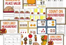 Thanksgiving 1st Grade / by Melissa Meuli